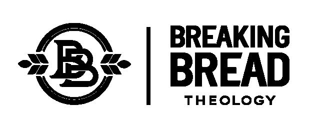 Breaking Bread Theology Logo Horizontal Black